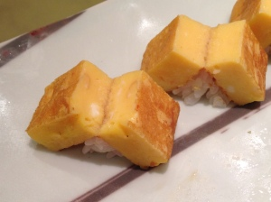 Fluffy tamago that taste more like a sponge cake